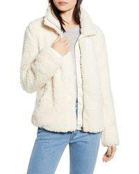 Thread & Supply Wubby Fleece Zip Jacket - Natural