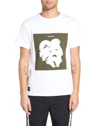 Native Youth - Placement Print T-shirt - Lyst
