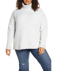 Caslon - Caslon Turtleneck Sweater - Lyst