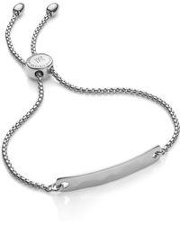 Monica Vinader Engravable Havana Friendship Chain Bracelet (exclusive Collection) - Metallic