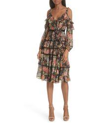 Needle & Thread - Paradise Rose Shimmer Dress - Lyst