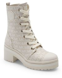 MICHAEL Michael Kors Corey Combat Boot - Natural
