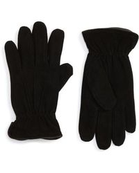 Nordstrom - Suede Thermolite Gloves - Lyst