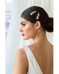 Brides & Hairpins - Sona Set Of 2 Hair Clips - Lyst