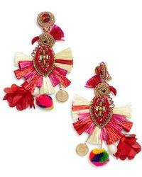 Ranjana Khan - Phoenix Tassel Earrings - Lyst