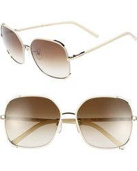 Chloé 'nerine' 58mm Sunglasses - - Multicolour