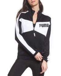 PUMA - Archive T7 Half Zip Pullover - Lyst