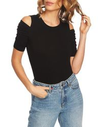 1.STATE - Cold Shoulder Top - Lyst