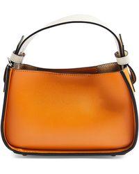 TOPSHOP Mini Faux Leather Satchel - Multicolor