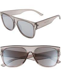 BP. 58mm Shield Sunglasses - Gray