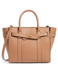 Mulberry | Small Zip Bayswater Classic Leather Tote | Lyst
