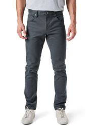 7 Diamonds - Brushed Twill Five-pocket Pants - Lyst