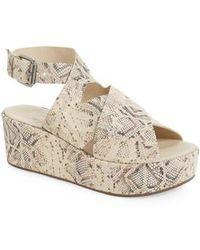 Matisse - Runway Wedge Sandal - Lyst