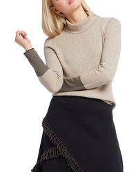 NIC+ZOE Petite Balance Turtleneck Sweater - Multicolour