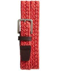Cole Haan - Woven Belt - Lyst