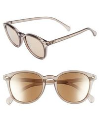 Le Specs - X Lumira Bandwagon 51mm Sunglasses & Candle Gift Set - Mist Copper - Lyst