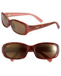 Maui Jim - Punchbowl 54mm Polarizedplus2 Rectangular Sunglasses - Lyst