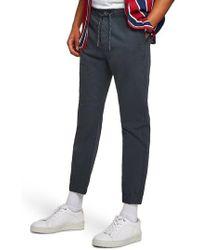 TOPMAN - Woven Jogger Pants - Lyst