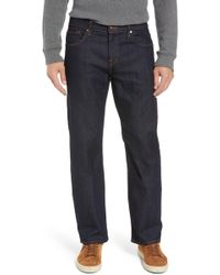 7 For All Mankind - 7 For All Mankind Austyn Airweft Relaxed Straight Leg Jeans - Lyst