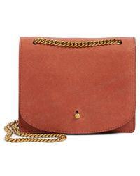 Madewell - Leather Crossbody Wallet - Lyst