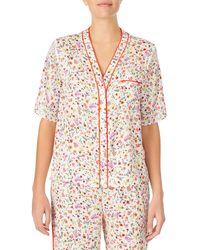 Room Service Pajama Top - Multicolor