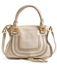 Chloé | Marcie Medium Leather Shoulder Bag  | Lyst