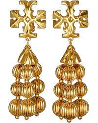Tory Burch - Roxanne Tassel Earrings - Lyst