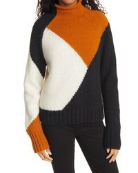A.L.C. Claremont Turtleneck Sweater - Multicolour