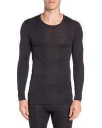 Hanro - Wool & Silk Long Sleeve T-shirt - Lyst