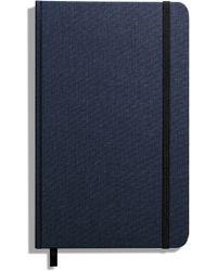 Shinola Hardcover Linen Journal - Blue