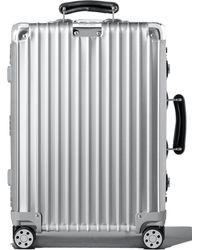 Rimowa - Classic 22-inch Wheeled Suitcase - Metallic - Lyst