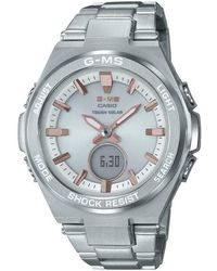 G-Shock - G-shock G-ms Ana-digi Bracelet Watch - Lyst