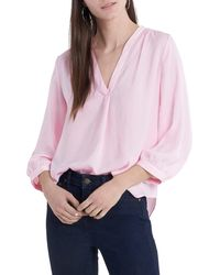 Vince Camuto - Rumple Fabric Blouse - Lyst