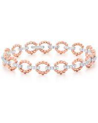 Kwiat - Beaded Link Diamond Bracelet - Lyst