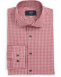 1901 - Trim Fit Check Dress Shirt - Lyst