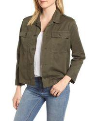 Velvet By Graham & Spencer - Workwear Cotton Jacket - Lyst