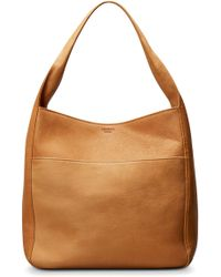 Shinola - Cass Dearborn Leather Hobo - - Lyst
