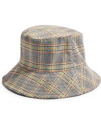 5ab53d9736dd8 TOPSHOP  pork Pie  Bowler Hat in Black - Lyst