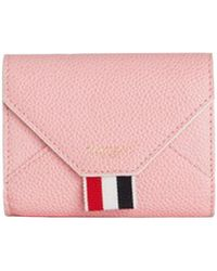 Thom Browne - Leather Envelope Card Case - Lyst