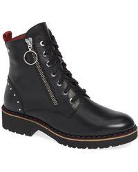 Pikolinos Vanda Wov Womens Stud Ankle Boots - Black