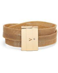 Vince Camuto - Mesh Magnetic Wrap Bracelet - Lyst