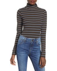 BP. - Mock Neck Bodysuit - Lyst
