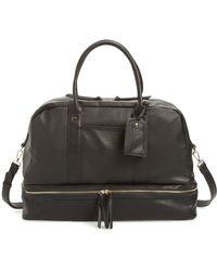 Sole Society Mason Weekend Bag - Black