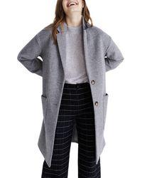 Madewell Elmcourt Coat - Gray