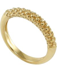 Lagos - Caviar Band Ring - Lyst