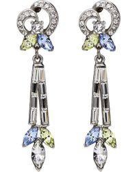 Ben-Amun - Multicolor Baguette Earrings - Lyst
