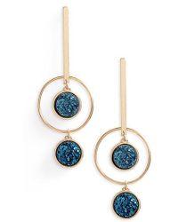 Panacea | Geometric Drop Earrings | Lyst