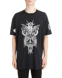 Givenchy - Monster Tour Graphic T-shirt - Lyst
