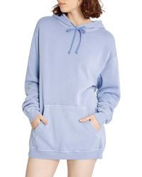 Wildfox Colin Oversize Hoodie - Blue