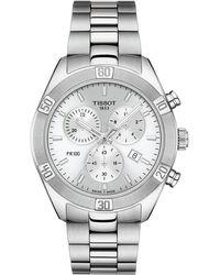 Tissot Pr 100 Classic Chronograph Bracelet Watch - Metallic